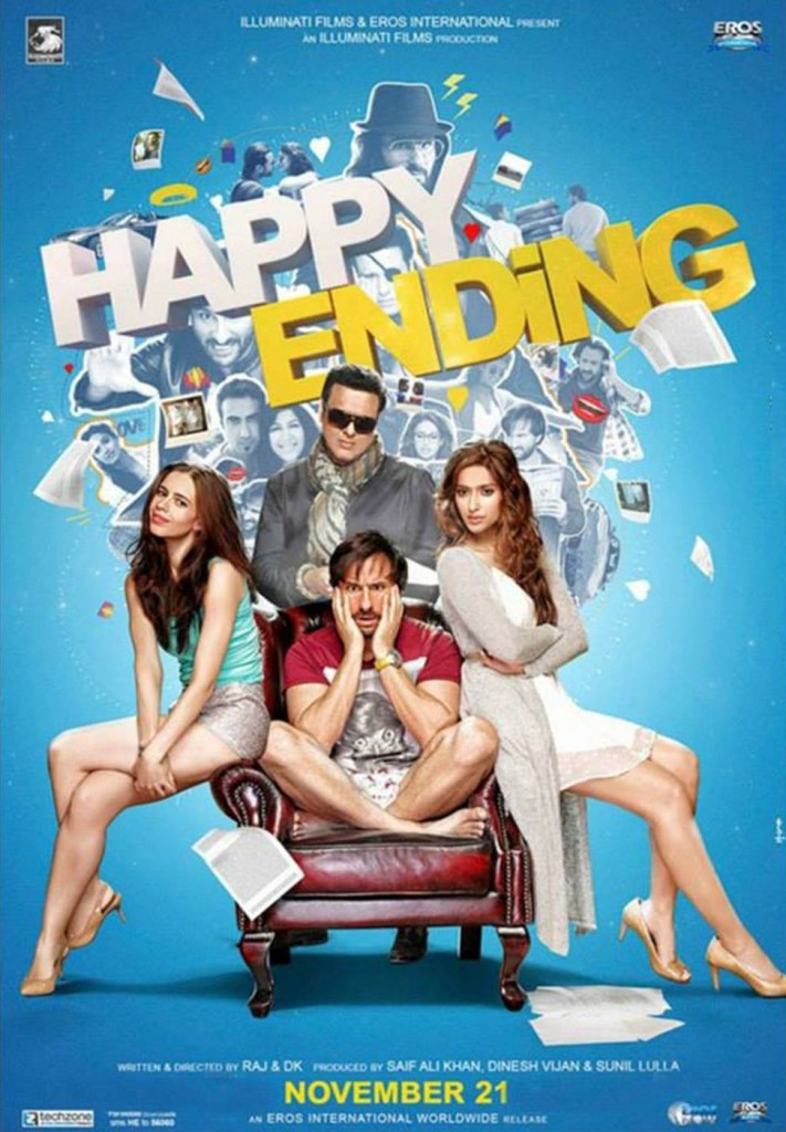 Happy Ending Bollywood movie
