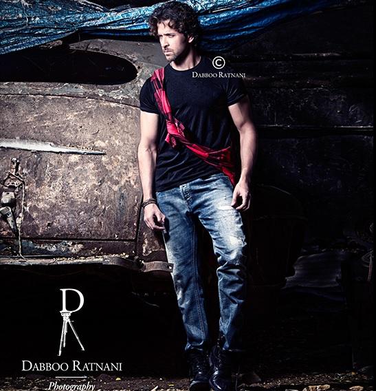 Hrithik Roshan in Dabboo Ratnani Calendar 2015
