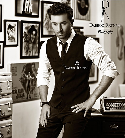 Ranbir Kapoor in Dabboo Ratnani calendar 2015