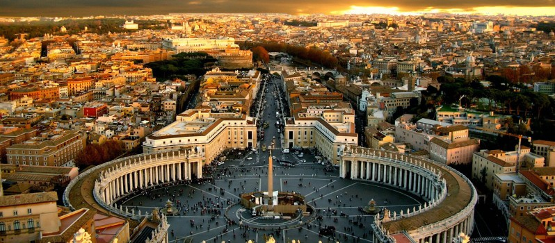 Smallest Recognized Country in World Vatican City