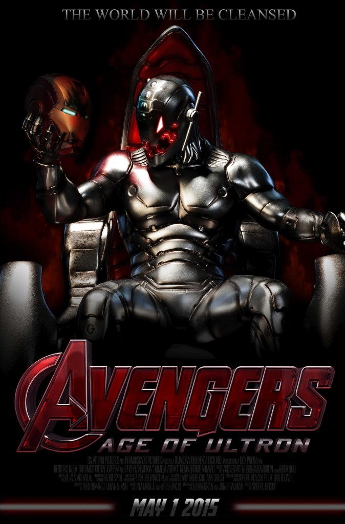 AVENGERS AGE OF ULTRON MOVIE 2015