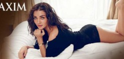 Amy Jackson Hot Bikini Photoshoot for Maxim India March 20151