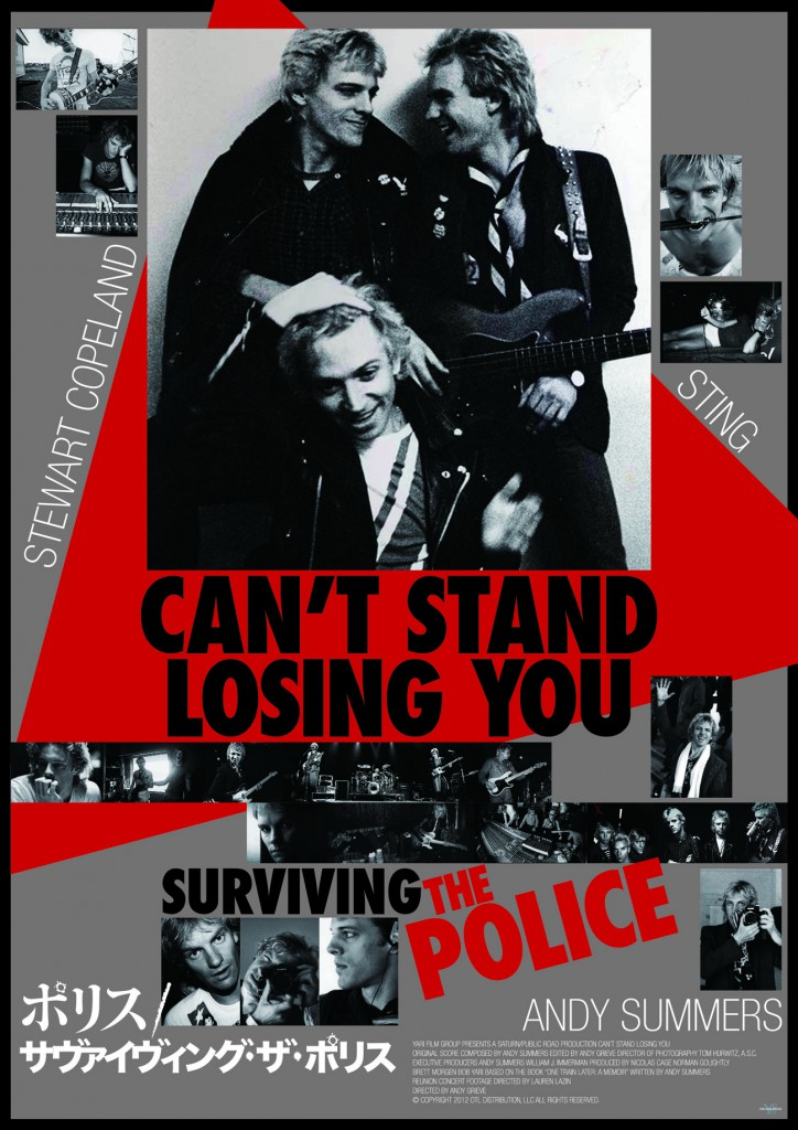 CAN'T STAND LOSING YOU: SURVIVING THE POLICE MOVIE