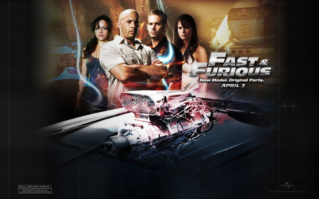 FAST & FURIOUS 4 MOVIE