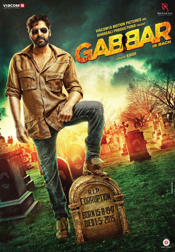 GABBAR IS BACK BOLLYWOOD MOVIE