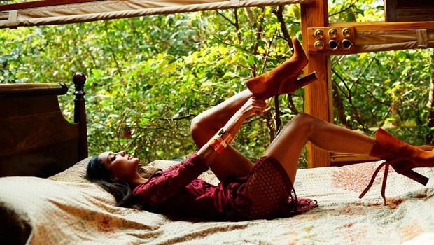Lisa Haydon Photoshoot for Elle Magazine