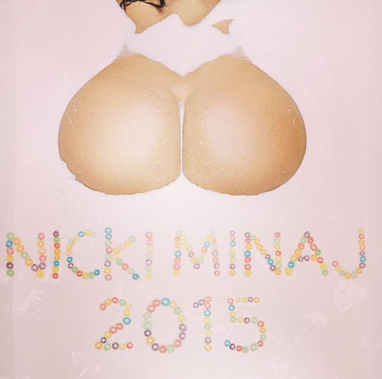 NICKI MINAJ HOT CALENDAR 2015 PHOTOSHOOT