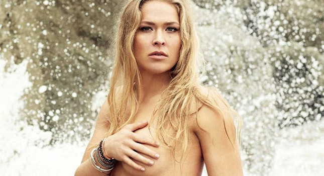 RONDA ROUSEY HOT SIZZLING TOPLESS PHOTO SHOOT FOR SPORTS ILLUSTRATED87
