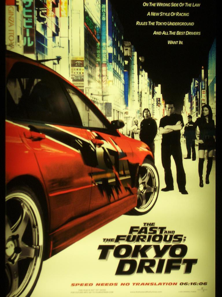 The Fast and the Furious Tokyo Drift Movie