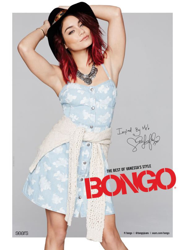 VANESSA HUDGENS HOT PHOTOSHOOT FOR BONGO SPRING