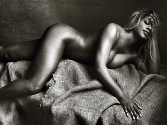 LAVERNE COX POSES NUDE IN PHOTOSHOOT