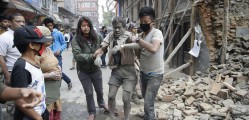 POWERFUL EARTHQUAKE IN NEPAL 1