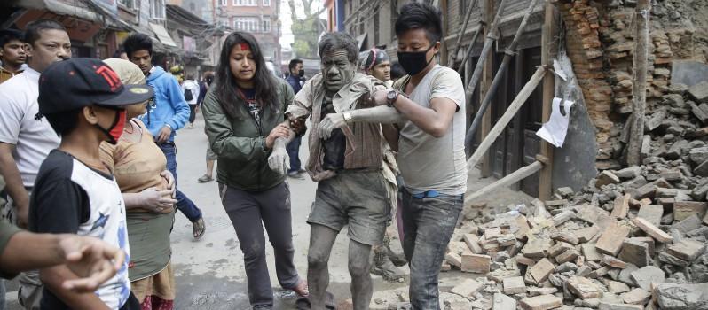 POWERFUL EARTHQUAKE IN NEPAL 1