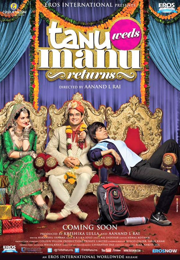 TANU WEDS MANU RETURNS BOLLYWOOD MOVIE