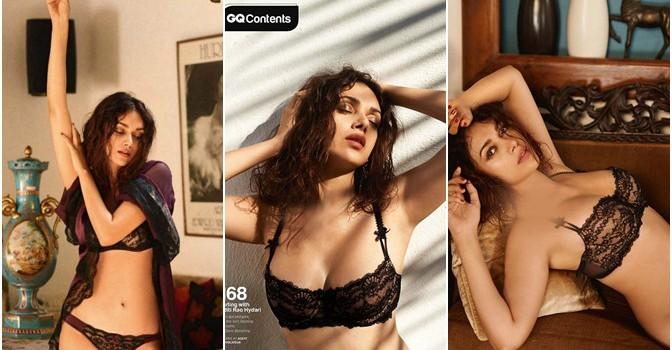 ADITI RAO HYDARI PHOTOSHOOT GQ MAGAZINE