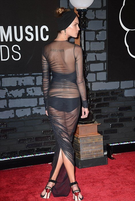 Erin Wasson at MTV Video Music Awards