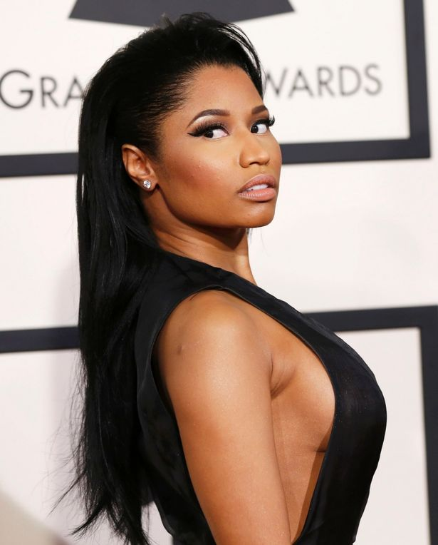 Cut out dress from Hollywood to Bollywood: Rapper Nicki Minaj at 57th Annual Grammy Awards