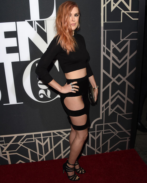 Rumer Willis the daughter of Demi Moore at the Elle Women In Music celebration