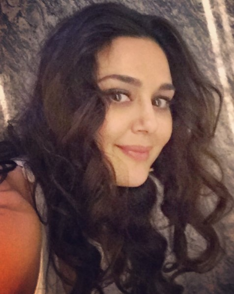 Preity Zinta posted her first picture after marriage