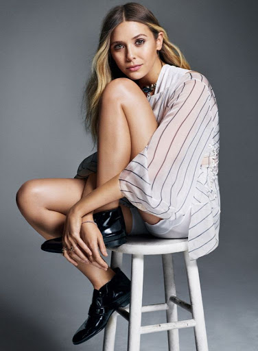 Elizabeth Olsen Photoshoot for Elle Magazine Canada 2