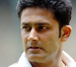Anil Kumble is the new Head Coach of India