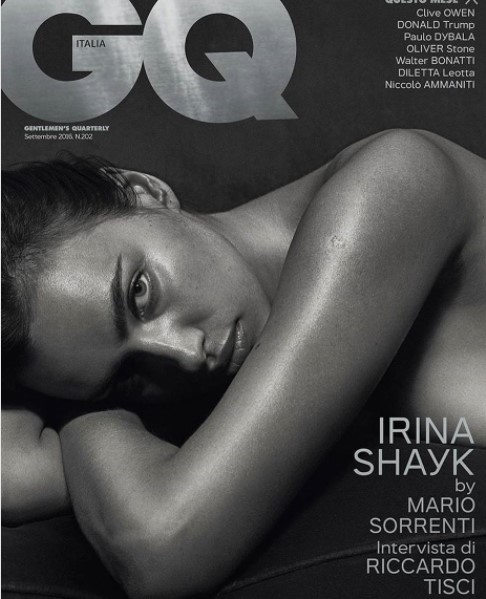 Irina Shayk Hot Pose for GQ