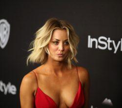 Big Bang Theory Actress Kaley Cuoco Exposes her Breast on Snapchat