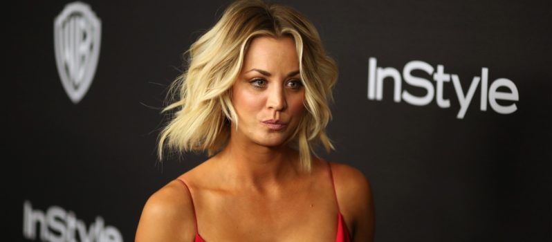 Big Bang Theory Actress Kaley Cuoco Exposes her Breast on Snapchat