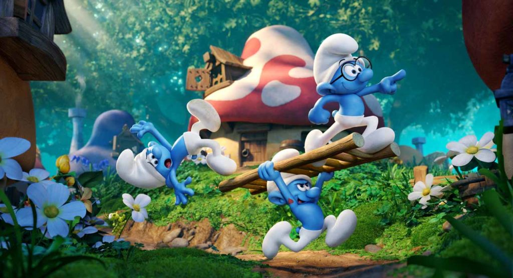 Smurfs The Lost Village Hollywood Movie Directed by Kelly Asbury