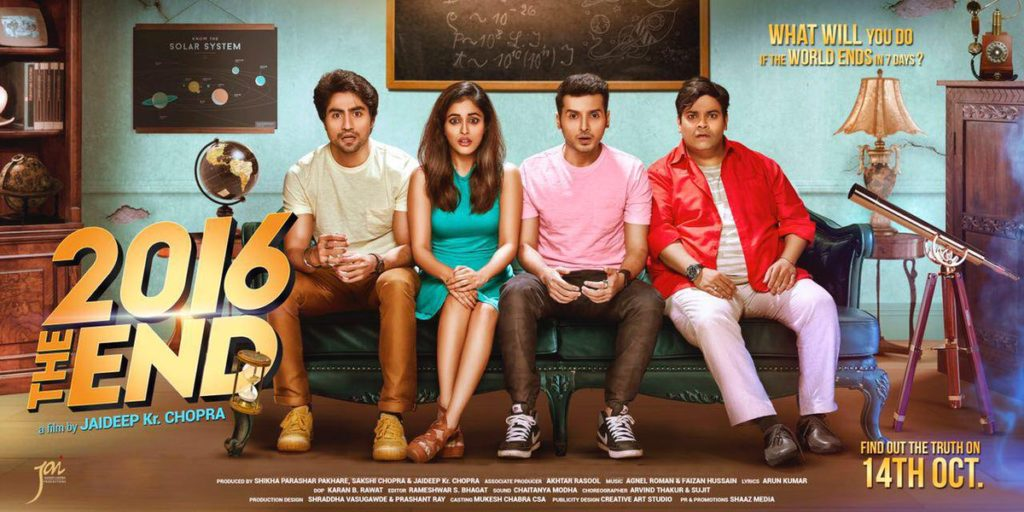 Bollywood Movie 2016 The End directed by Jaideep Chopra