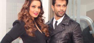 Bipasha Basu and Karan Singh Grover are on the Bazaar Fashion Cover Page