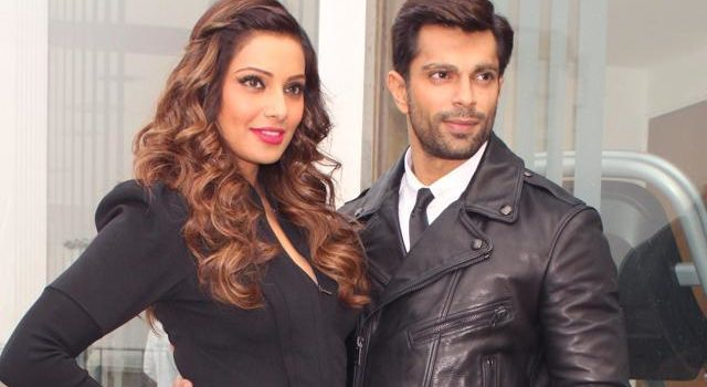 Bipasha Basu and Karan Singh Grover are on the Bazaar Fashion Cover Page