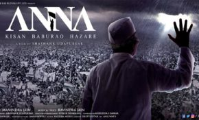 Bollywood Movie Anna directed by Shashank Udapurkar
