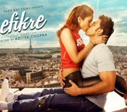 Bollywood Movie Befikre directed by Aditya Chopra