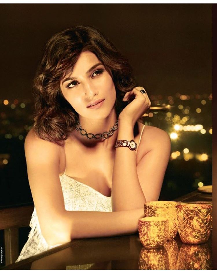 Kriti Sanon Looks Stunning for Titan watches shoot