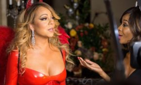 Mariah Carey Looks Great in a Halloween Party
