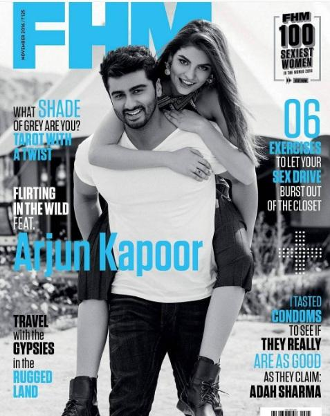 Arjun Kapoor is on FHM India Magazine