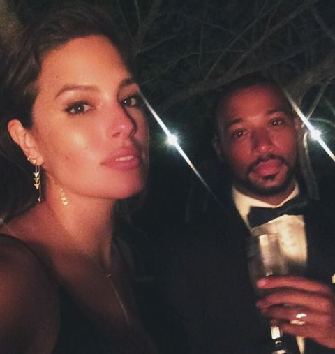 Ashley Graham posted topless image on Instagram