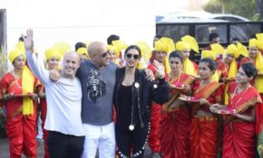 Vin Diesel and Deepika Padukone in Mumbai for promotion of their movie XXX return of the xander
