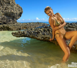 Kate Upton did a hot photo shoot for Sports Illustrated