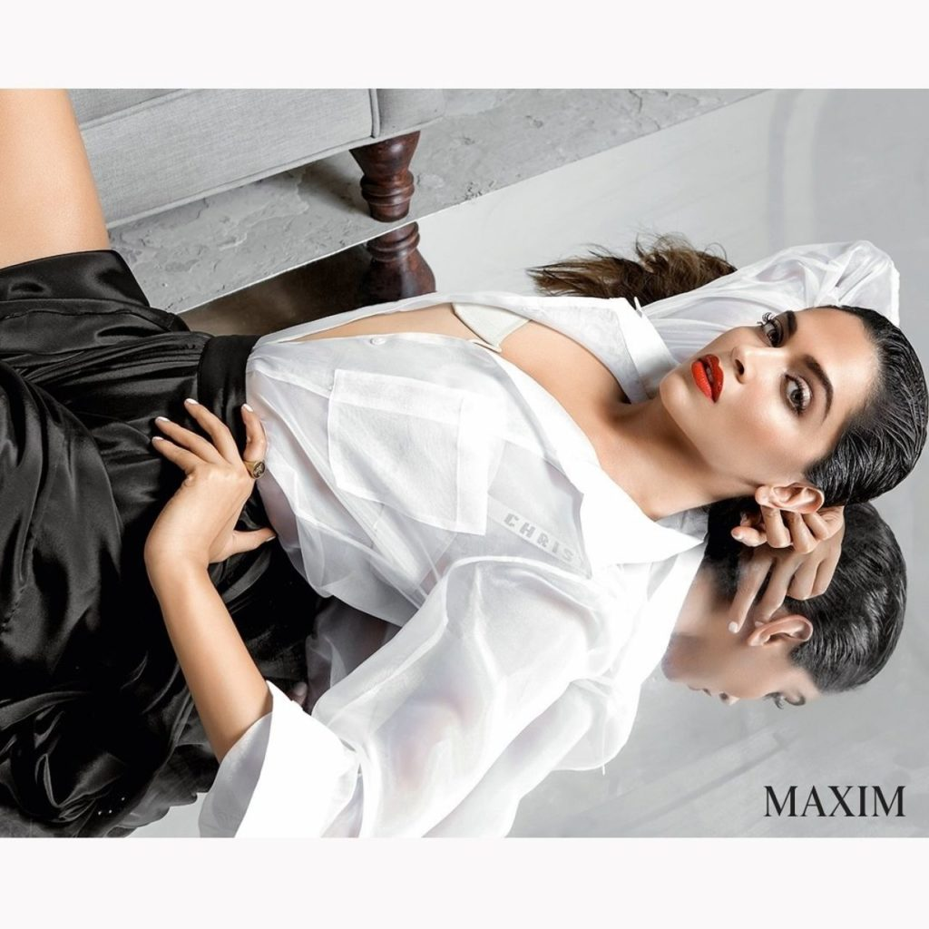 Deepika Padukone Hot Cover Page Shoot for Maxim Magazine June 2017